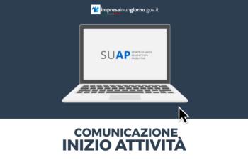 dotcom24 comunicazione inizio attivita